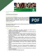 TdR Coordinador/a de proyecto Vigilantes