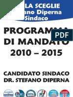 Mola Sceglie Stefano Diperna Sindaco