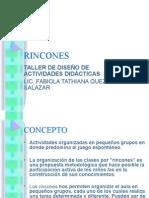 Modalidad de Rincones