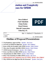 Implementation and Complexity Issues for Ofdm