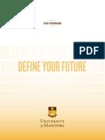 University of Manitoba 2016 Viewbook
