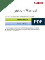ImageBrowser EX Camera Instruction Manual En