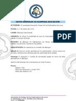 Programacion Acampada 6-7 MARZO 2010 en CASA GRANDE