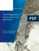 The Philippines- Outsourcing's New Destination-- Guide for Businessmen and Investors 2011-2012 Digital Edition
