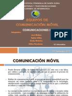 Equipos de Comunicación Móvil