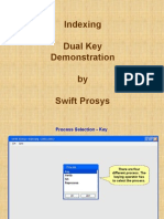Indexing Tool demonstration - Swift Prosy