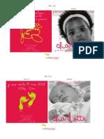 Catalogue Les Petits Poussins 2