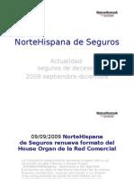 NorteHispana Seguros Actualidad 2009