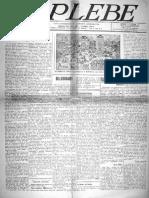 A Plebe - Fase 01 ano 01 n.13 08-09-1917