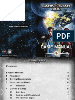 DarkStar One Game Manual