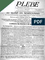 A Plebe - Fase 01 Ano 01 Suplemento 15-09-1917