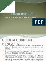 libro contable bancos