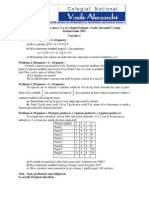 Varianta 2 Clasa 5 an 2015