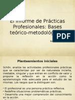 El Informe de Prácticas Profesionales
