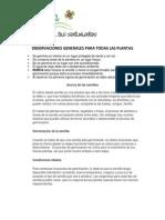 Manual de Semillas manual de Plantas