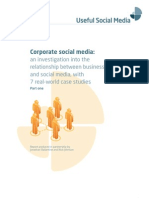 Corporate Social Media White Paper - part 1 (of 4)