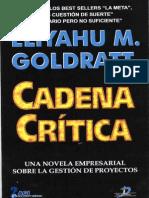 Goldratt Cadena Critica