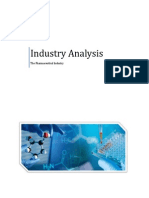 Industry Analysis Pharmaceutical Industry(2015)