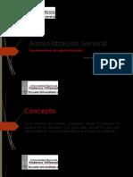 Fundamentos de Administraciòn.