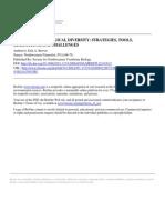 Herramientas, Estrategias, Limitaciones Para El Monitoreo de La Biodiversidad