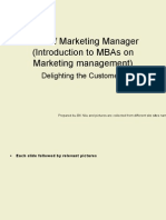 Introduction to Marketing Manager Skillset