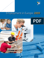 Employment in Europe Report_2009