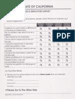 2015 California State Employee Survey