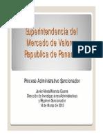 Proceso Administrativo Sancionador - SMV
