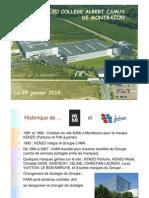 Présentation Collège Montbazon