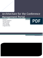 Architecture for the Conference Management Portal