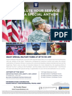 Military Rates Flyer