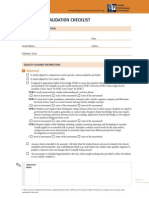 Tool1 Assessment Validation Checklist