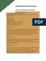 Apuntes de Mecanica de Materiales