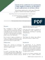 Metodología de obtención de los coeficientes de sustentación y arrastre para un rango amplio de números de Reynolds y ángulos de ataque para aplicaciones en turbinas eólicas