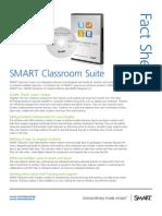 Factsheet SMART Classroom Suite ENG