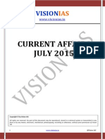 Vision IAS July - 2015