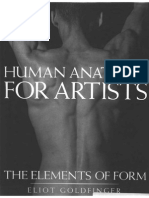 Goldfinger Eliot - Human Anatomy for Artists the Elements of Form
