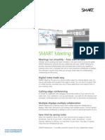 Factsheet SMART Meeting Pro ENG