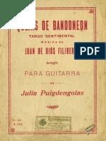Quejas de Bandoneón - Guitarra