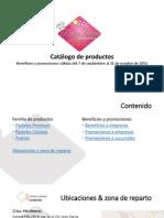 Catalogo de Productos y Promociones Sept-oct 2015