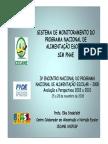 Sistema de Monitoramento Do Programa Nacional de Alimentação Escolar