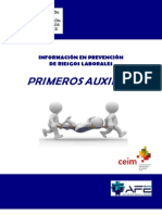 FOLLETO PRIMEROS AUXILIOS