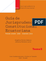 Guia Jurisprudencia Constitucional Ecuatoriana