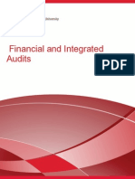 ACCT 506 - Financial And Integrated Audits