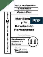 CFM #11 Mariátegui y La Revolución Permanente (J. Pereira)