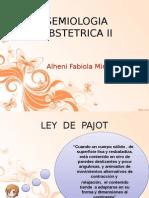 Semiologia II - Alheni Miranda