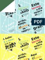 Etiquetas Termos de Fiesta