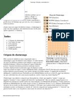 Chaturanga – Wikipédia, A Enciclopédia Livre