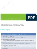 Transparencias certificación 70-461 sql server 2012