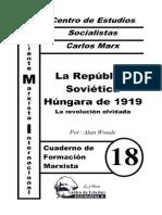 CFM #18 La República Soviética Húngara de 1919 (a. Woods)